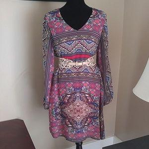 Cato Printed Dress